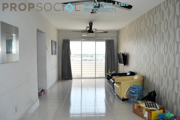 For Sale Apartment at Alam Prima, Shah Alam Freehold Semi Furnished 3R/2B 317k
