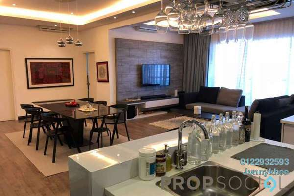 For Sale Condominium at Royal Regent, Dutamas Freehold Semi Furnished 4R/4B 1.16m