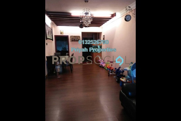 For Sale Condominium at Villa Angsana, Jalan Ipoh Freehold Semi Furnished 3R/2B 565k