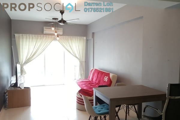 For Sale Condominium at Casa Tropika, Puchong Freehold Fully Furnished 3R/2B 408k