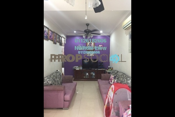 For Sale Terrace at Taman Megah, Cheras South Freehold Semi Furnished 3R/2B 470k