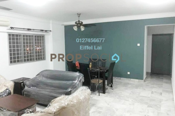 For Rent Condominium at Pertiwi Indah, Cheras Freehold Fully Furnished 3R/2B 2.1k
