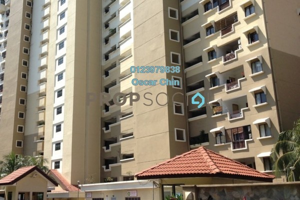 For Sale Condominium at Vista Komanwel, Bukit Jalil Freehold Fully Furnished 3R/2B 530k