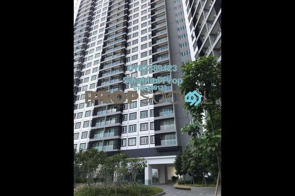 For Rent Condominium at Mercury Serviced Apartment @ Sentul Village, Sentul Freehold Semi Furnished 3R/2B 1.4k
