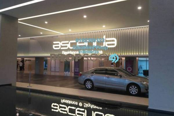 For Rent Condominium at Ascenda Residence @ SkyArena, Setapak Freehold Semi Furnished 3R/2B 1.8k