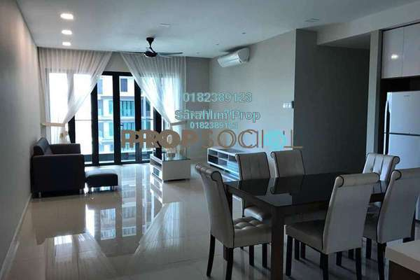 For Rent Condominium at The Reach @ Titiwangsa, Setapak Freehold Fully Furnished 3R/3B 3.6k