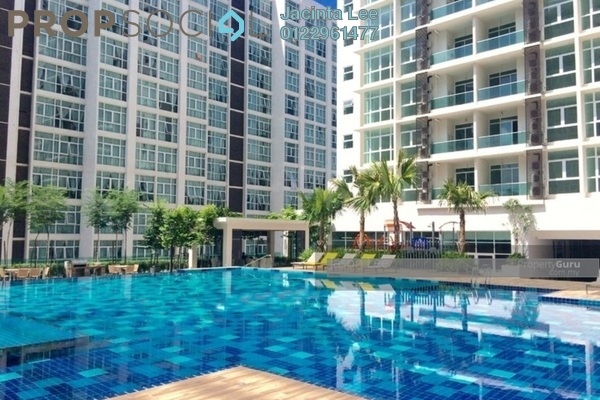 For Sale Serviced Residence at Mutiara Ville, Cyberjaya Freehold Semi Furnished 3R/2B 295k