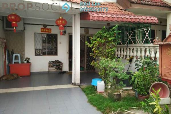 For Sale Terrace at Pandan Mewah, Pandan Indah Freehold Semi Furnished 3R/2B 626k