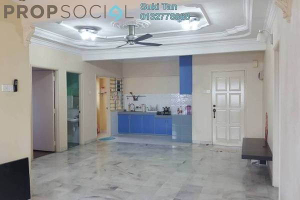 For Sale Apartment at Perdana Puri, Kepong Freehold Semi Furnished 3R/2B 368k