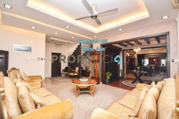 For Sale Semi-Detached at Changkat Kiara, Dutamas Freehold Semi Furnished 6R/6B 3.2m