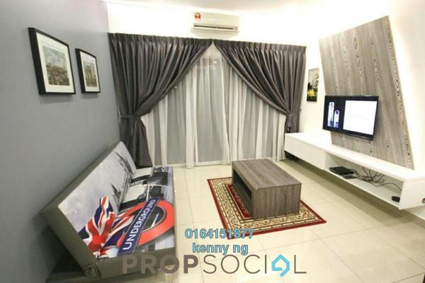 For Sale Condominium at Anyaman Residence, Bandar Tasik Selatan Freehold Semi Furnished 3R/2B 605k