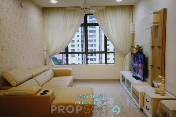 For Rent Condominium at All Seasons Park, Farlim Freehold Fully Furnished 3R/2B 1.5k