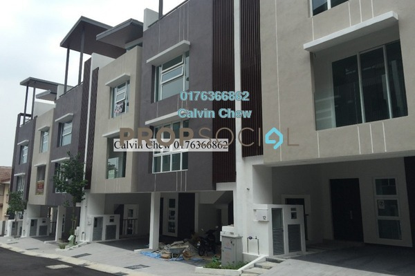 For Sale Terrace at Canary Residence, Cheras Leasehold Unfurnished 5R/3B 755k