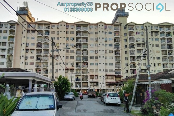 For Sale Apartment at City Heights Apartment, Kajang Freehold Fully Furnished 3R/2B 220k