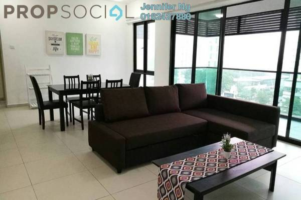 For Rent Condominium at Serin Residency, Cyberjaya Freehold Fully Furnished 3R/2B 2.1k