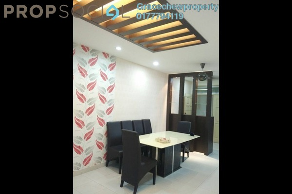 For Rent Apartment at Tebrau City Residences, Tebrau Freehold Fully Furnished 2R/2B 1.68k