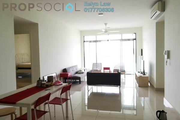 For Rent Condominium at Twin Arkz, Bukit Jalil Freehold Fully Furnished 4R/2B 3.5k
