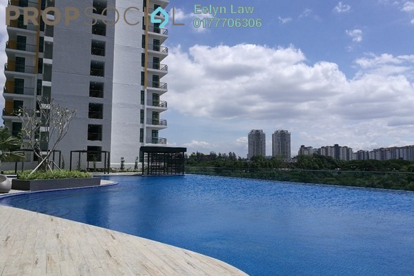 For Rent Condominium at OBD Garden Tower, Taman Desa Freehold Fully Furnished 3R/2B 3.2k