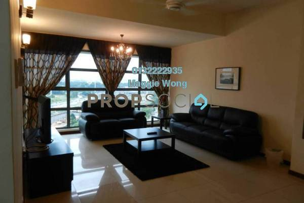 For Rent Condominium at Saujana Residency, Subang Jaya Freehold Fully Furnished 3R/2B 3.7k