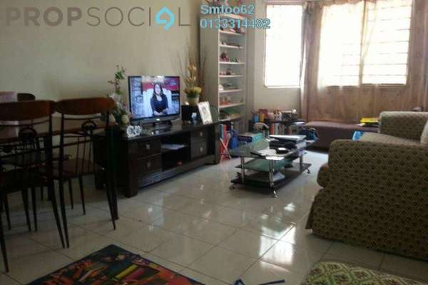 For Rent Condominium at Mawar Apartment, Sentul Freehold Semi Furnished 3R/2B 1.3k