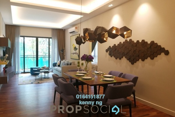 For Sale Condominium at Kaleidoscope, Setiawangsa Leasehold Semi Furnished 3R/2B 606k
