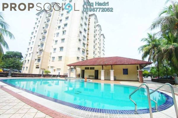For Sale Condominium at Elaeis 1, Bukit Jelutong Freehold Fully Furnished 3R/2B 390k