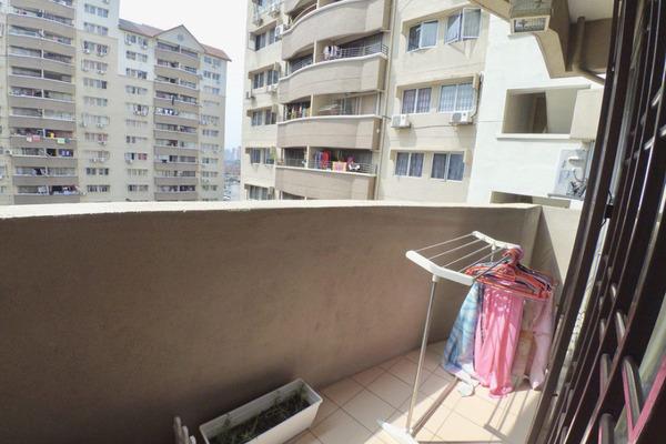 For Sale Apartment at Sentul Utama Condominium, Sentul Freehold Fully Furnished 3R/2B 365k