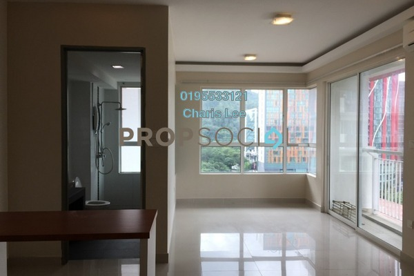 For Rent Serviced Residence at Ritze Perdana 2, Damansara Perdana Freehold Semi Furnished 1R/1B 1.2k