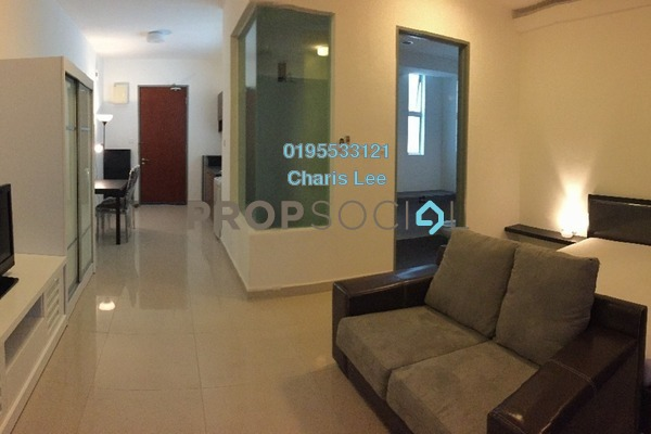 For Rent Serviced Residence at Ritze Perdana 2, Damansara Perdana Freehold Fully Furnished 1R/1B 1.6k