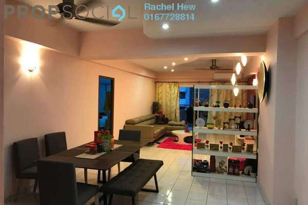 For Sale Condominium at Endah Ria, Sri Petaling Freehold Fully Furnished 3R/2B 478k