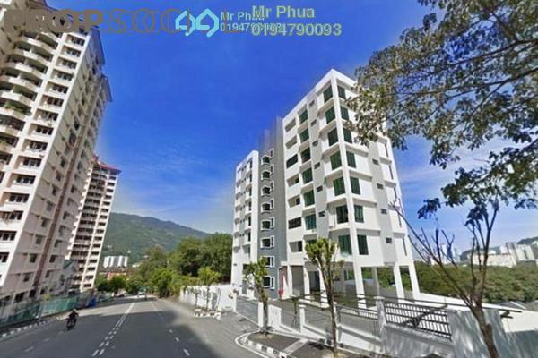 For Rent Condominium at View Court, Farlim Leasehold Semi Furnished 3R/3B 1.3k