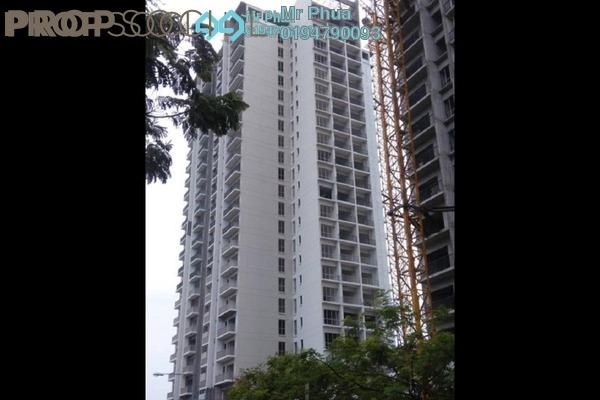 For Rent Condominium at Platinum III, Teluk Kumbar Freehold Semi Furnished 3R/3B 1k