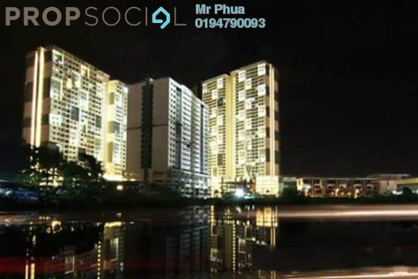 For Rent Condominium at Palma Laguna, Seberang Jaya Freehold Semi Furnished 4R/2B 1.1k