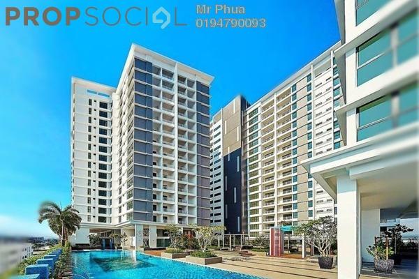 For Rent Condominium at Mahkota Impian, Bukit Minyak Freehold Semi Furnished 3R/2B 1.25k
