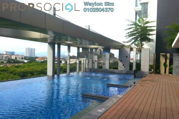 For Sale Condominium at KL Palace Court, Kuchai Lama Freehold Unfurnished 3R/2B 600k