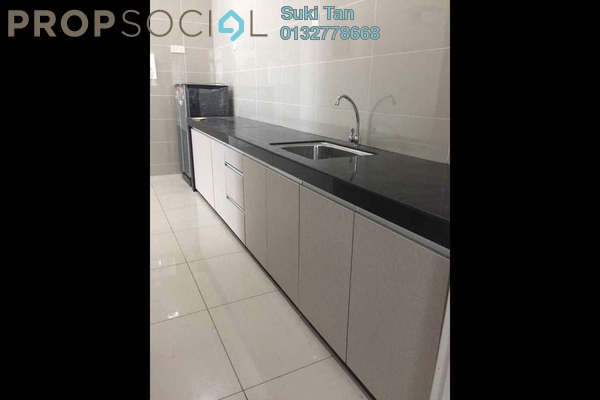 For Rent Condominium at Fortune Perdana Lakeside, Kepong Freehold Semi Furnished 3R/3B 1.8k