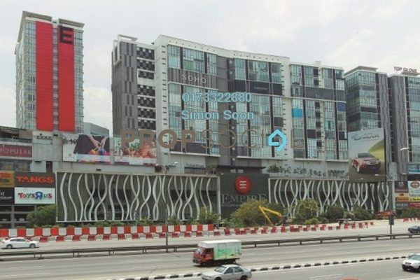 For Sale SoHo/Studio at Empire Subang, Subang Jaya Freehold Fully Furnished 2R/1B 578k