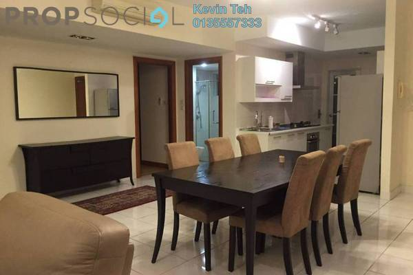 For Rent Condominium at Kiara Designer Suites, Mont Kiara Freehold Fully Furnished 3R/2B 3.5k