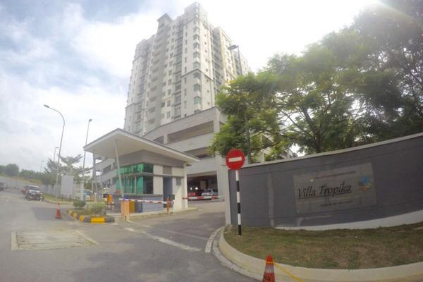 For Sale Apartment at Villa Tropika Apartment, Bangi Freehold Unfurnished 3R/2B 325k