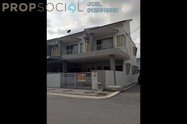 For Rent Terrace at Tiara Lake Park, Ipoh Freehold Semi Furnished 4R/3B 1k