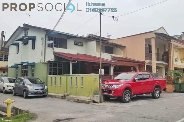 For Sale Terrace at Taman Sri Rampai, Setapak Freehold Unfurnished 3R/3B 570k