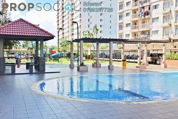 For Sale Apartment at Cahaya Permai, Bandar Putra Permai Freehold Semi Furnished 3R/2B 300k