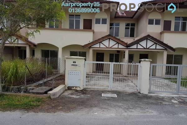 For Sale Terrace at Alam Perdana, Kuala Selangor Freehold Unfurnished 4R/3B 380k