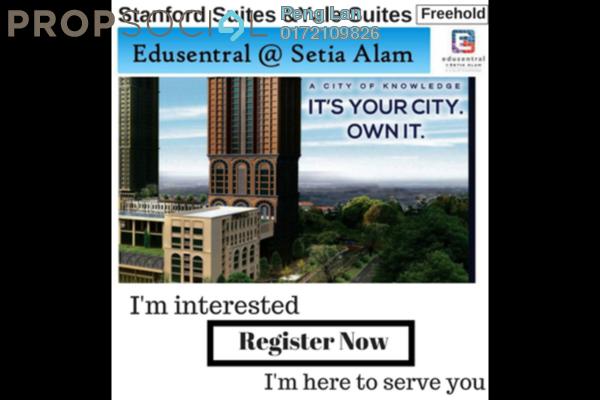For Sale Condominium at Edusentral, Setia Alam Freehold Semi Furnished 1R/1B 328k