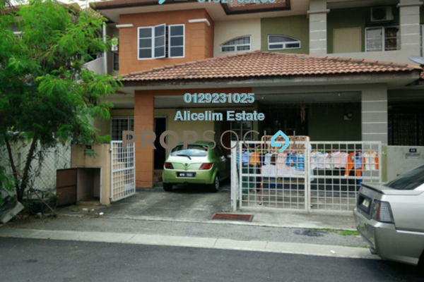 For Rent Terrace at Taman Subang Murni, Subang Freehold Semi Furnished 4R/3B 1.6k