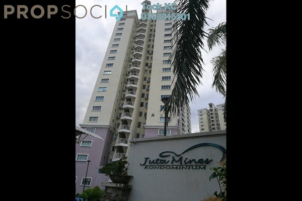 For Rent Condominium at Juta Mines, Seri Kembangan Freehold Semi Furnished 3R/2B 1k