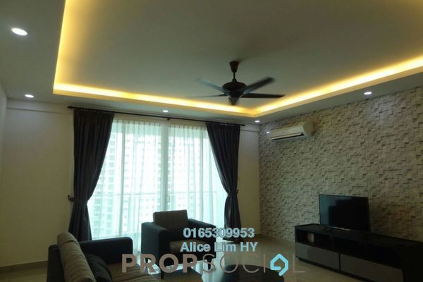 For Sale Condominium at Summerton Condominium, Bayan Indah Freehold Fully Furnished 3R/3B 1.05m