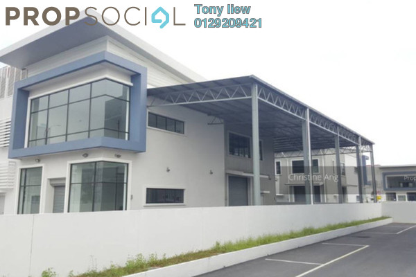 For Rent Factory at Bukit Raja Industrial Park, Klang Freehold Unfurnished 0R/0B 12k