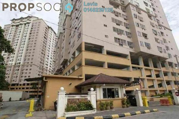 For Rent Condominium at Pelangi Indah, Jalan Ipoh Freehold Semi Furnished 3R/2B 1.1k