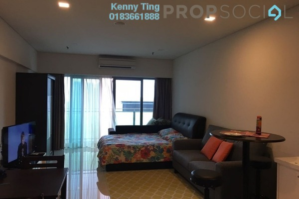 For Rent SoHo/Studio at Summer Suites, KLCC Freehold Fully Furnished 0R/1B 2k